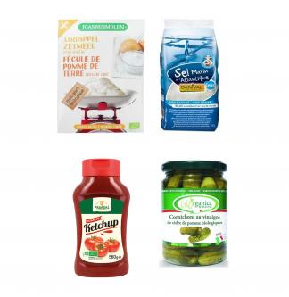 Condiments, sauces, bouillons et aides culinaires