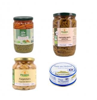 Conserves & plats cuisinés