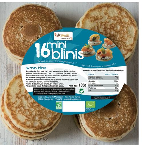 16 Mini-blinis