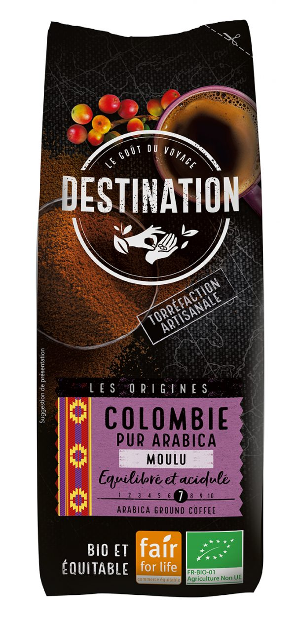 CAFE COLOMBIE MOULU FILTRE