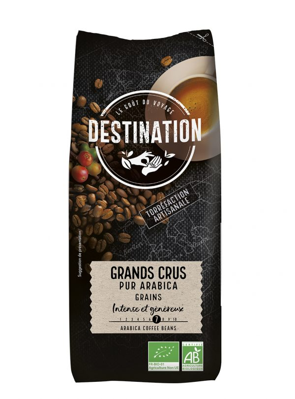 CAFE GRANDS CRUS GRAINS 1KG